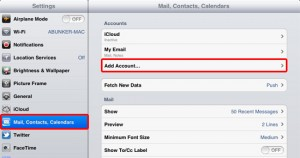 Plusnet email settings for Apple